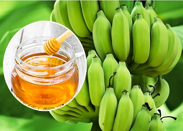 Điều trị bệnh đau dạ dày bằng chuối xanh kết hợp với mật ong