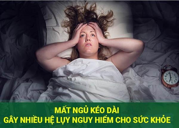 Bệnh mất ngủ gây ám ảnh nhiều người có thể gây ra những hệ lụy, biến chứng nguy hiểm