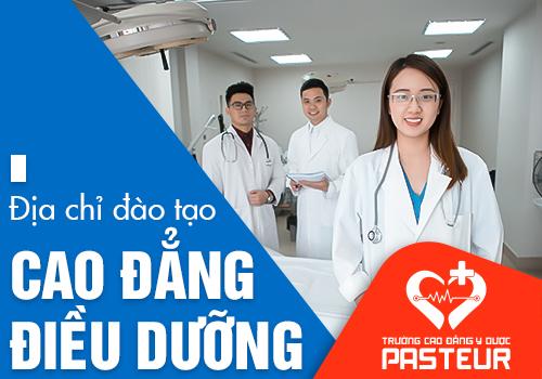Trường Cao đẳng Y Dược Pasteur đào tạo tuyển sinh Cao đẳng Điều dưỡng