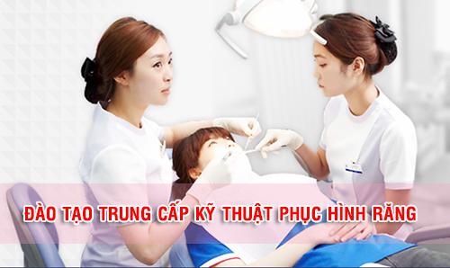 Trung cấp Kỹ thuật Phục hình răng Hà Nội đào tạo uy tín, chất lượng
