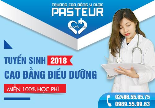Hình thức tuyển sinh Trường Cao đẳng Y Dược Pasteur năm 2018