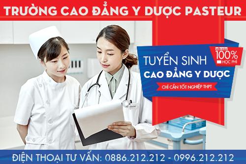 Trường Cao đẳng Y Dược Pasteur tuyển sinh Cao đẳng Y Dược