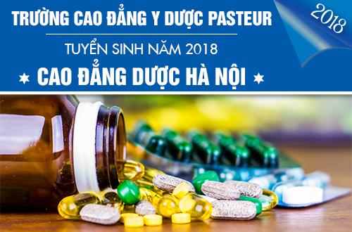 Điểm chuẩn Cao đẳng Dược Hà Nội năm 2018 là bao nhiêu?