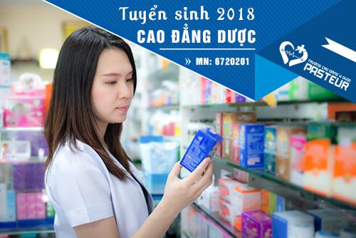 Mã ngành Cao đẳng Dược năm 2018