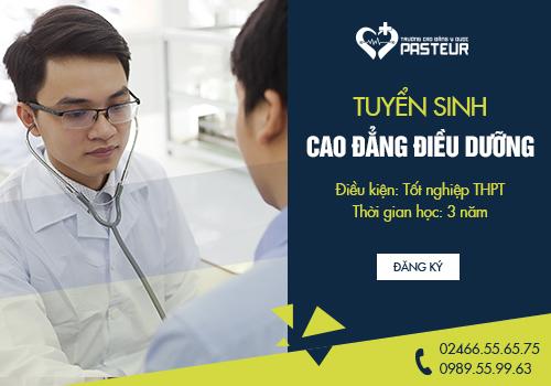 Tuyển sinh Cao đẳng Điều dưỡng uy tín, chất lượng
