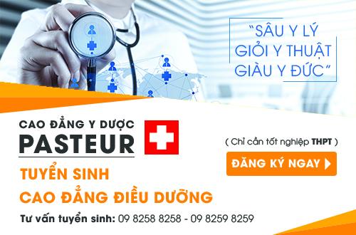 Cao đẳng Y Dược Pasteur đào tạo Cao đẳng Điều dưỡng uy tín đầu ra