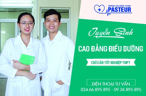 Trường Cao đẳng Y Dược Pasteur thông báo tuyển sinh Cao đẳng Điều dưỡng