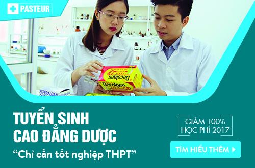 Trường Cao đẳng Y Dược Pasteur thông báo tuyển sinh Cao đẳng Dược chỉ cần tốt nghiệp THPT