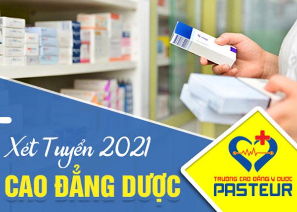 Tuyển sinh Cao đẳng Dược chính quy năm 2021
