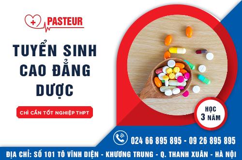 Trường Cao đẳng Y Dược Pasteur đào tạo Cao đẳng Dược uy tín