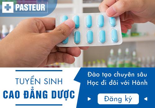 Trường Cao đẳng Y Dược Pasteur tuyển sinh Cao đẳng Dược tại Hà Nội