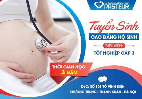 Hà Nội thông báo tuyển sinh Cao đẳng Hộ sinh năm 2018