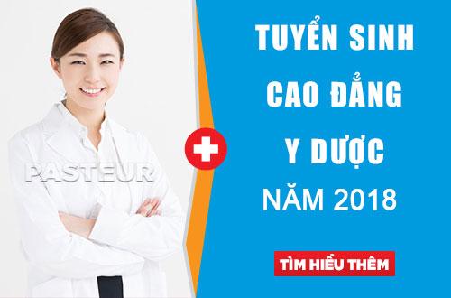 Cao đẳng Y Dược Hà Nội tuyển sinh năm 2018