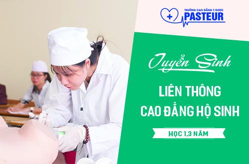 Hồ sơ tuyển sinh Liên thông Cao đẳng Hộ sinh Hà Nội năm 2018