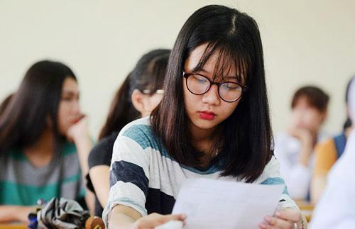 Thí sinh làm bài thi theo trình tự quy định