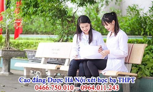 Cao đẳng Dược Hà Nội tuyển sinh