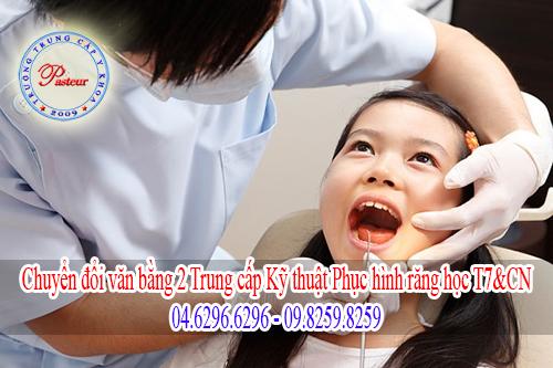 Đào tạo văn bằng 2 Trung cấp Kỹ thuật phục hình răng trong và ngoài giờ hành chính