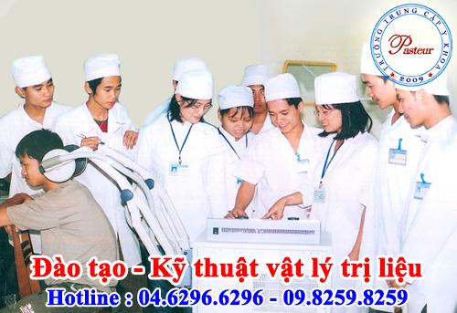 Trường Trung cấp Y Khoa Pasteur đào tạo KTV Vật lý trị liệu