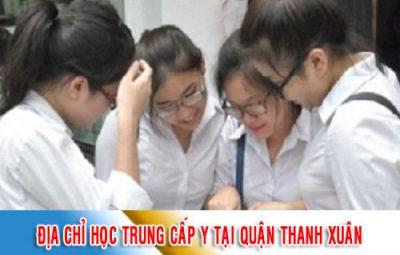 Địa chỉ học Trung cấp Y tại Quận Thanh Xuân