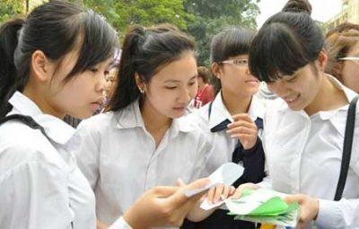 Thí sinh làm bài thi môn Toán kỳ thi THPT Quốc gia