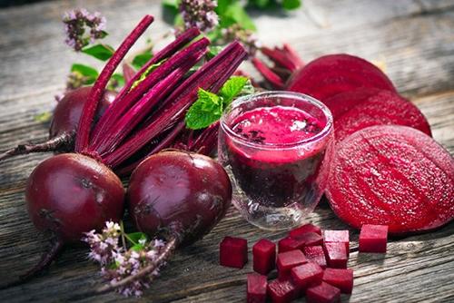 Củ dền là một trong những thực phẩm ngừa cao huyết áp