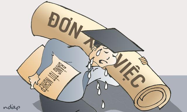 Nguyên nhân của tình trạng hàng loạt cử nhân thất nghiệp là do đâu?