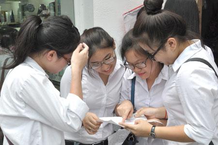 Điểm sàn đại học năm 2107 có thể được công bố sớm hơn so với dự kiến