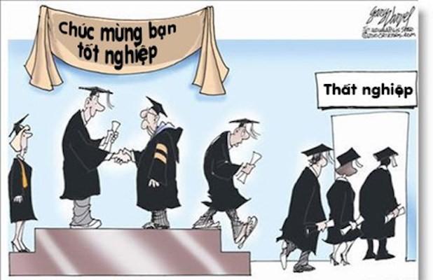 Sinh viên ra trường và nỗi lo thất nghiệp