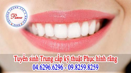 Tuyển sinh Trung cấp Kỹ thuật phục hình răng