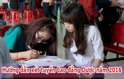 truong-cao-dang-duoc-huong-dan-xet-tuyen-nam-2016