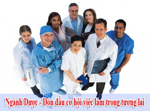 Học ngành Dược đón đầu cơ hội việc làm trong tương lai