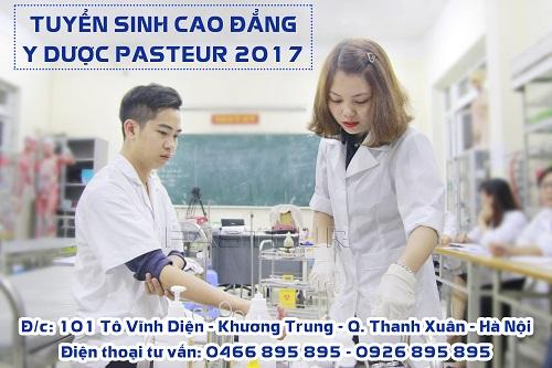 Cao đẳng Y Dược Pasteur tuyển sinh Cao đửng Y Dược năm 2017
