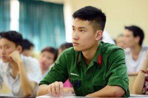 Các trường Quân đội đã công bố phương án tuyển sinh 2017