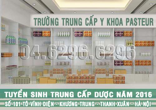 Tuyển sinh Trung cấp Dược Quận Thanh Xuân