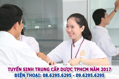 Trung cấp Dược TPHCM tuyển sinh Dược sĩ hệ chính quy năm 2017