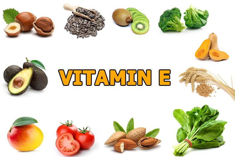 Nên bổ sung những thực phẩm giàu Vitamin E