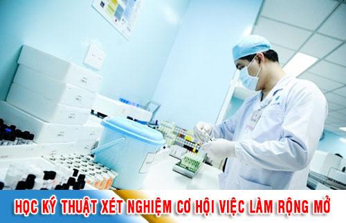 Xét nghiệm y học là ngành đem lại mức thu nhập cao