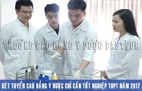 Học Y Dược nên theo học tại Trường Cao đẳng Y Dược Pasteur