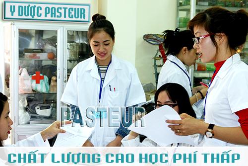Trường Cao đẳng Y Dược Pasteur chất lượng cao học phí thấp